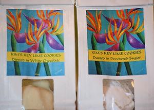 Kim's Key Lime Cookies (Indianapolis, Indiana)
