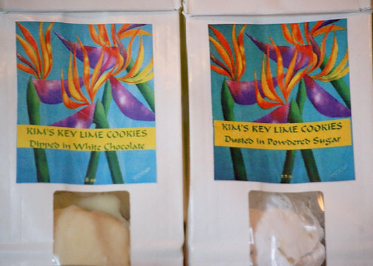 Kim's Key Lime Cookies (Indianapolis, Indiana)
