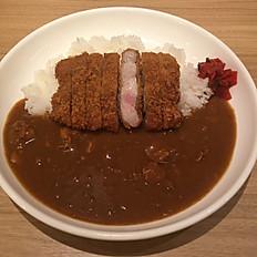 芳寿豚のロースカツカレー