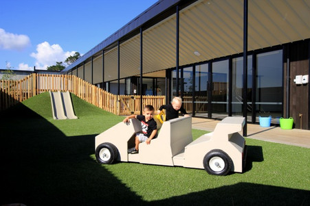 The Flinstone car at Eduplay Childcare