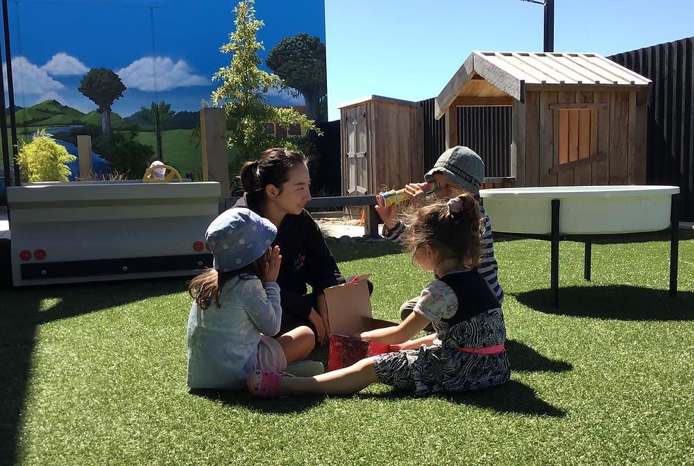 Eduplay Childcare Westgate - Teacher and children