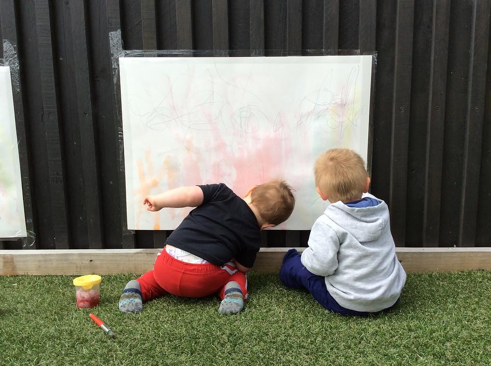Eduplay Childcare Westgate - Outdoor Art