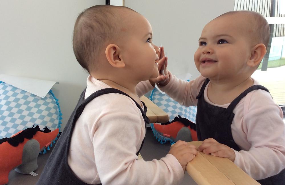 Eduplay Childcare Westgate - Baby in Mirror