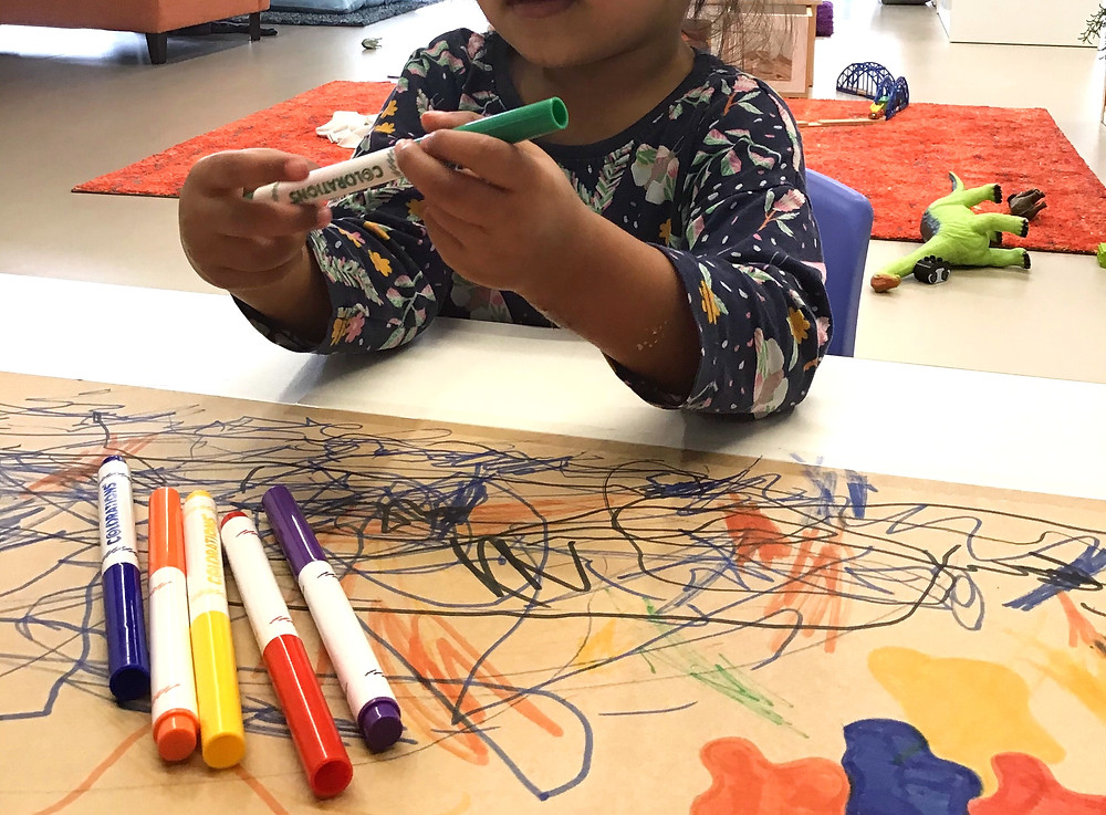 Eduplay Childcare Westgate - Mark Making