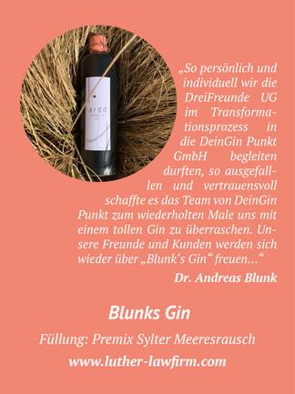 Blunks Gin