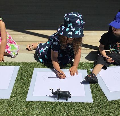 Eduplay Childcare Westgate - Children making art