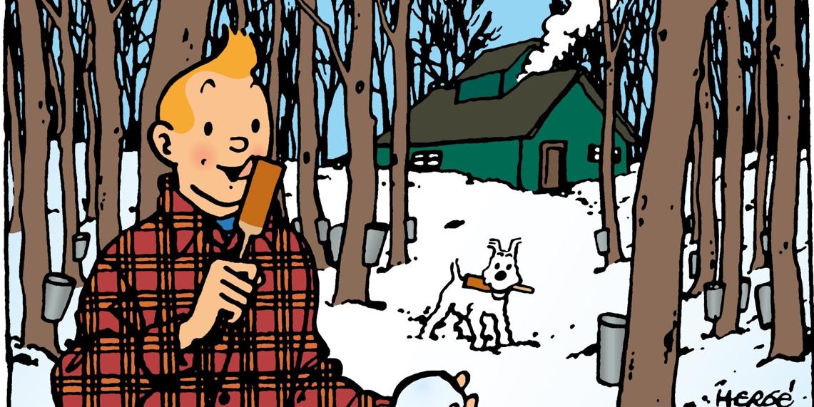 Au Québec avec Tintin