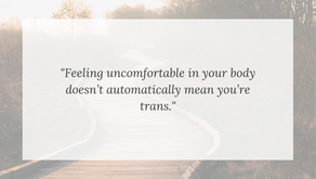 13 Year Old Girl Is Uncomfortable and Determines That Means She's Trans
