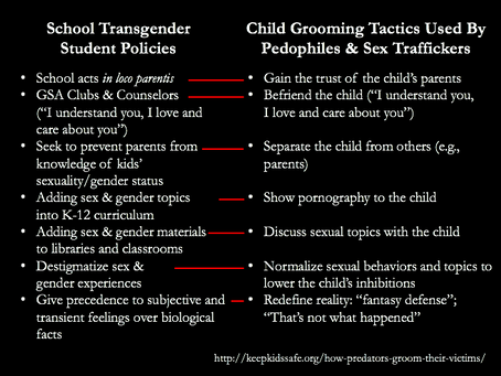 Vilifying Parents: the #1 Grooming Tactic of Gender Predators