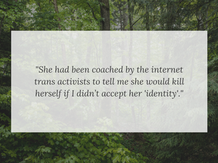 Shortly after Sexual Assault, Female Teen Girl Identifies as a Boy