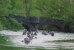 Marathon Canoe Racing