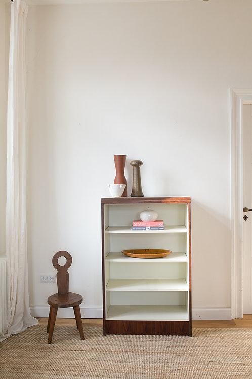 Mid century bookshelf cabinet