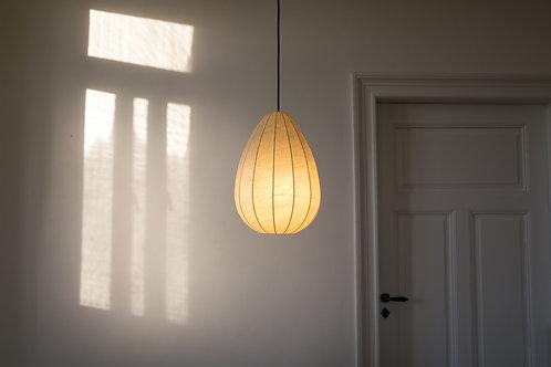 Mid century teardrop cocoon pendant lamp