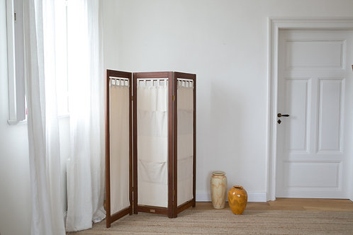 Vintage Teak Room Divider / Paravent / Partition