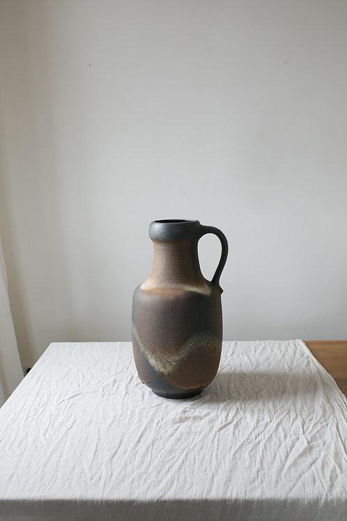 Large Vintage clay floor vase Amphora 1970s