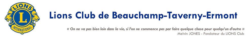 Lions Club de Beauchamp Taverny