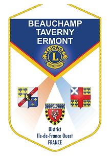 FANION du LC BEAUCHAMP TAVERNY ERMONT.pn