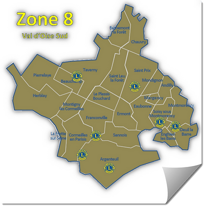 Lions Club 103 Zone 8 Val d'oise Sud
