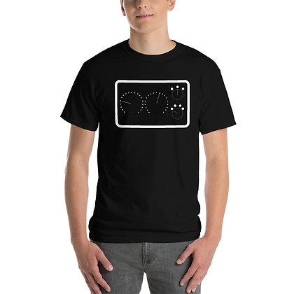 PM - 610 (Black) (Short Sleeve T-Shirt)