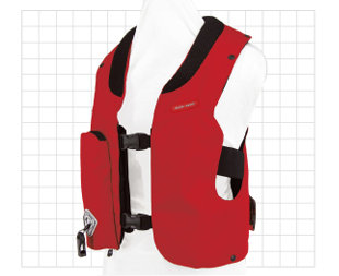 Kids Hit-Air Vest (Red)