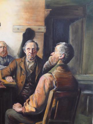 Visit of the School Trustees (R.Horris)