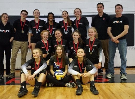 SHOCK 14's Perfect at Provincials this Weekend