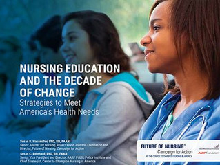Read about nursing education progress.