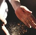 flouring Hände
