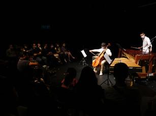 TICA Lecture Performance - Cello x Percussion