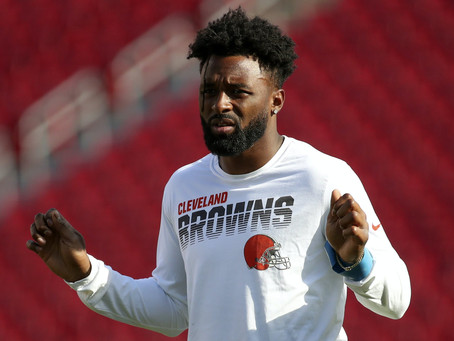 Part 2: Patriots make trade for Browns WR ... Jarvis Landry?