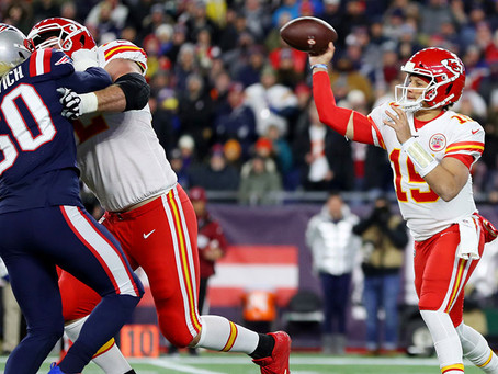 Issues abound for the Chiefs vs. Patriots game as positive Covid tests on both teams.