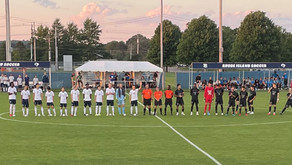 Men's Soccer: URI and PC produce thrilling 1-1 draw.