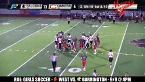 RIIL Football returns! Oakers defeat Falcons in Injury Fund game.