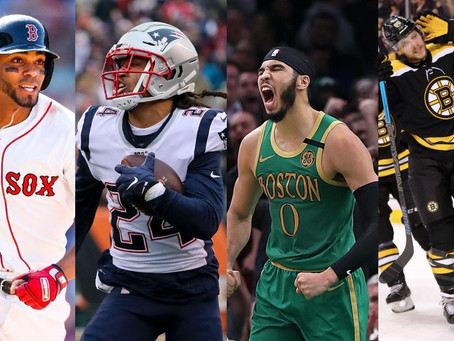 Maybe it was just 2020? – The year that shouldn't have been in Boston sports.