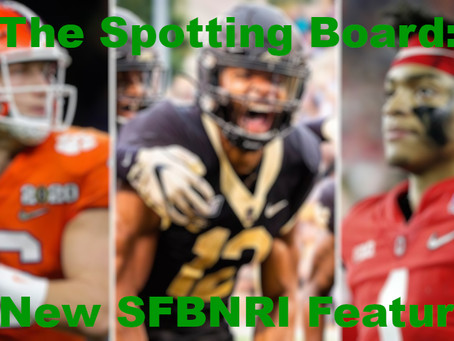Top College Draft Picks running for the NFL to make HS players run to the NCAA.