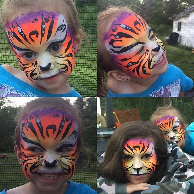 It was a tiger kind of night 😂😍 #fivel
