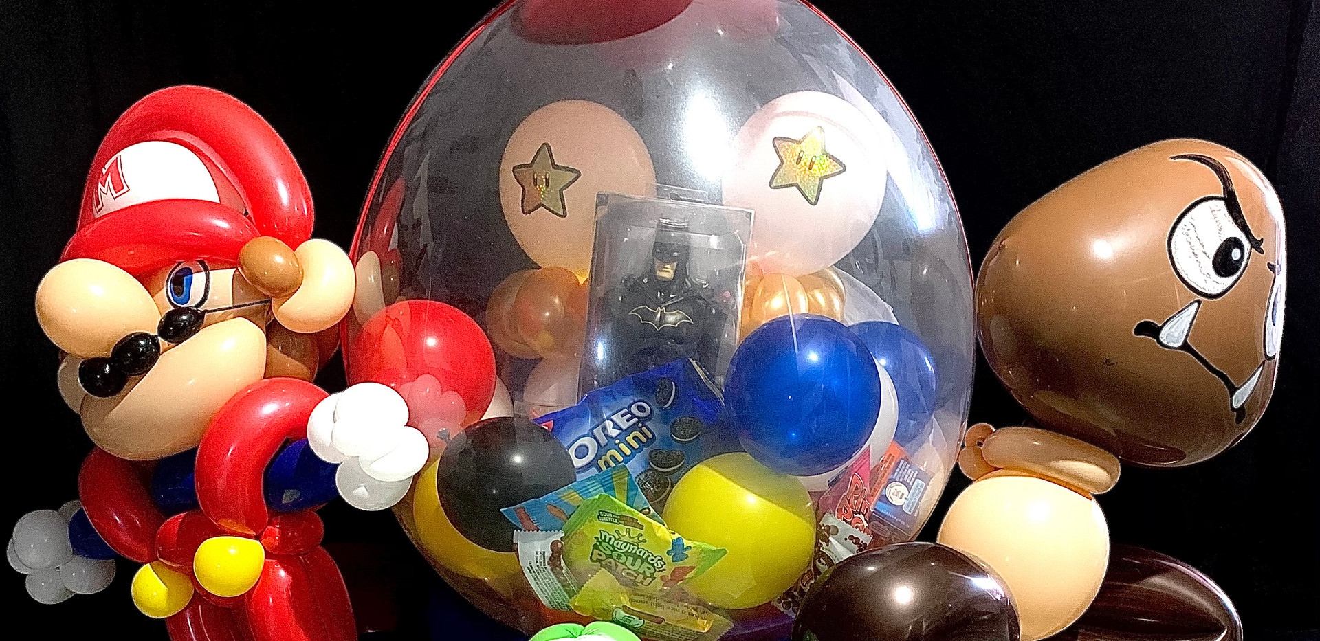Mario balloon stuffie