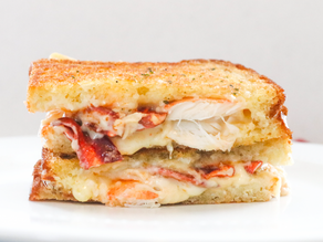 Canna-Lobster Grilled Cheese Sandwich