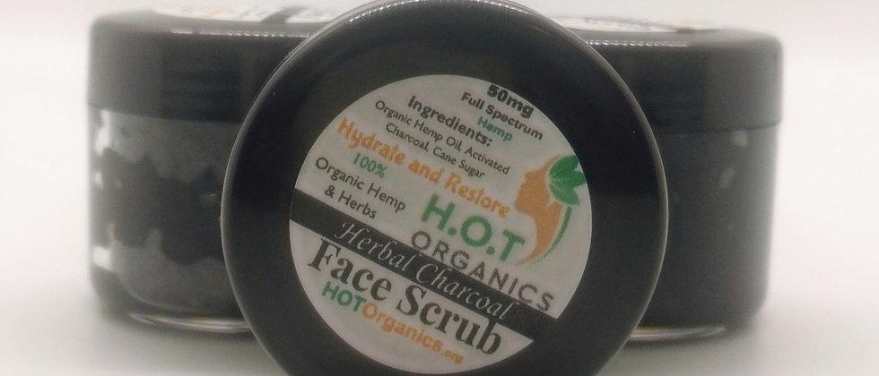 Herbal Charcoal Face Scrub