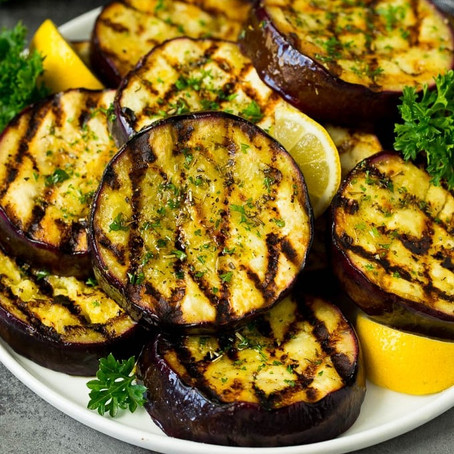 Grilled Canna Eggplant
