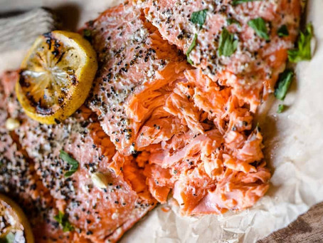 Lemon-Pepper Smoked Salmon