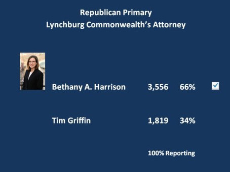 Bethany Harrison Wins Republican Nomination in Landslide Victory
