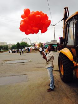Informal vendor outside MCGM