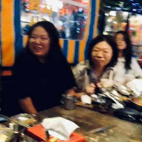 AUGUST 2021 - Saying good-bye and welcome with Korean hot pot