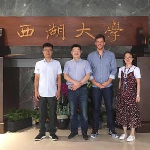 JULY 2020 - Important visitors from Zhejiang University