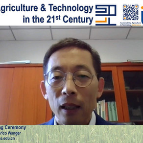 """MARCH 2021 - The SAT Lab hosted the """"Sustainable Agriculture and Technology"""" online symposium"""