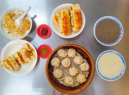 【大楊梅食記】大平街無名早餐店-熱賣二十年傳統手工蛋餅