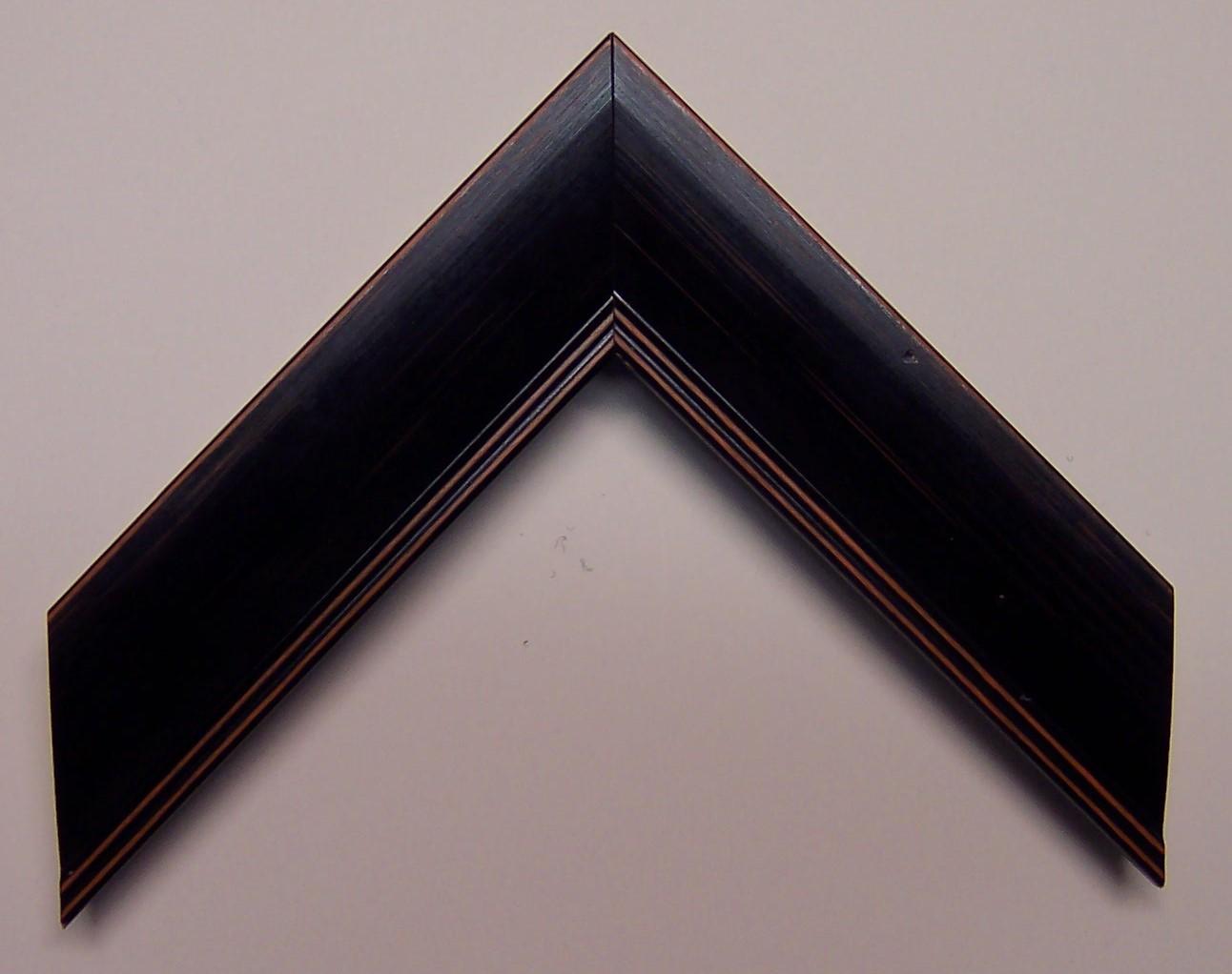 Black  w/Orange Edges