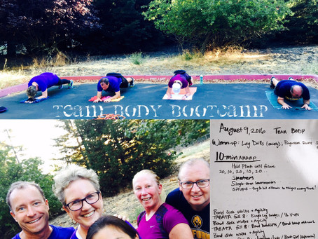 8/9/2016 BODY Bootcamp