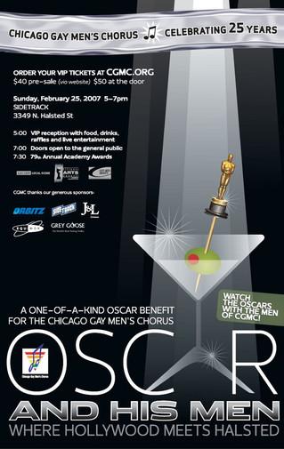 Chicago Gay Mens Chorus ~ Oscars Benefit